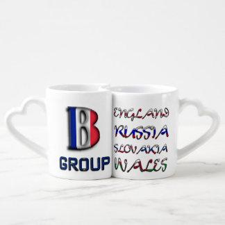 サッカーヨーロッパ選手権のユーロ2016のグループB ペアカップ