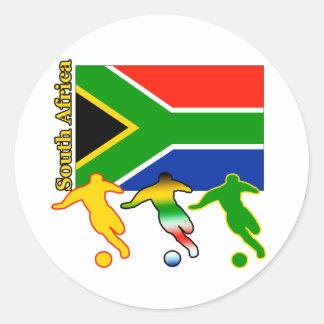 サッカー南アフリカ共和国 ラウンドシール