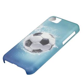 サッカー水しぶきのiPhone 5cケース iPhone5Cケース