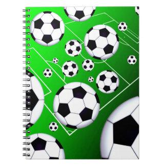 サッカー競技場のノート ノートブック