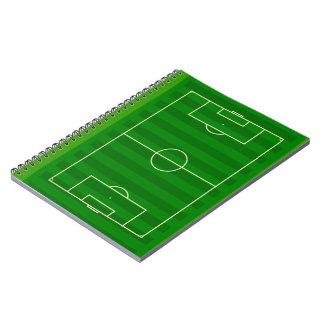 サッカー競技場 ノートブック