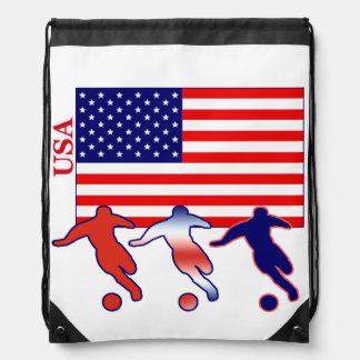 サッカー米国 ナップサック