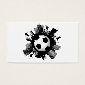 サッカー都市 名刺