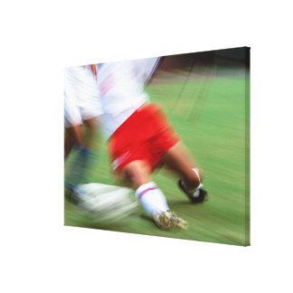サッカー2 キャンバスプリント