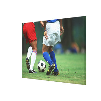 サッカー3 キャンバスプリント