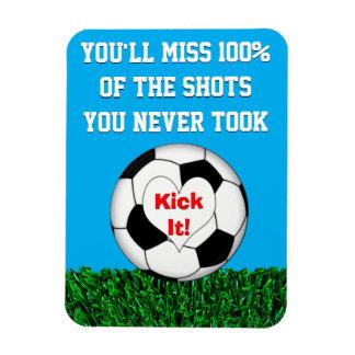 サッカー-それを蹴って下さい! マグネット
