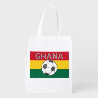 サッカー、ガーナ エコバッグ