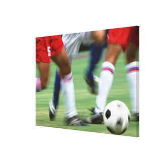 サッカー キャンバスプリント