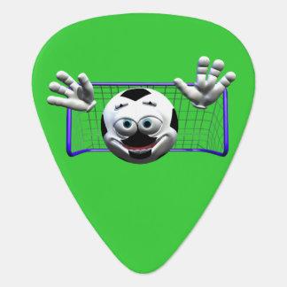 サッカー ギターピック