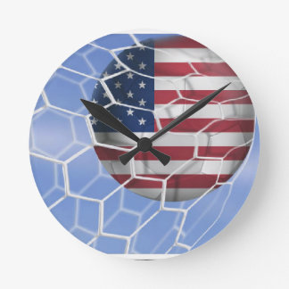 サッカーscores.jpg ラウンド壁時計