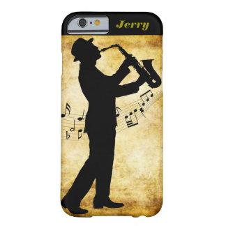 サックス演奏者のIphoneカバー Barely There iPhone 6 ケース
