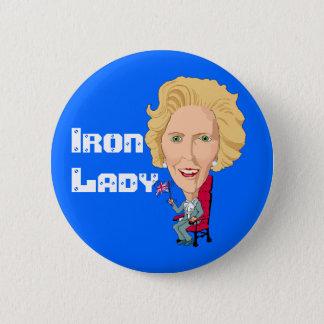 サッチャー元イギリスの総理大臣鉄の女 缶バッジ