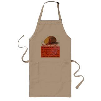 サツマイモのエプロン ロングエプロン