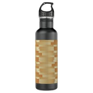 サテンの絹の金ストリップ-影Art101 ウォーターボトル