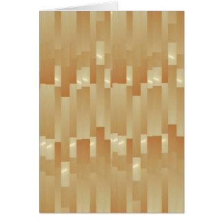 サテンの絹の金ストリップ-影Art101 カード