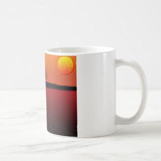 サバンナの日没 コーヒーマグカップ