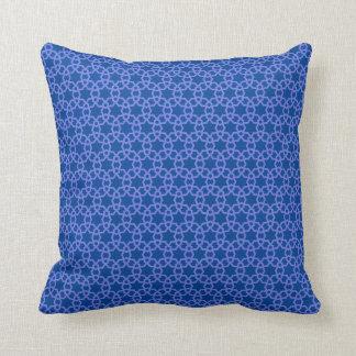 サファイアのアルハンブラのデザインの枕 クッション
