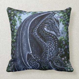 サファイアのドラゴンの等級綿の装飾用クッション クッション