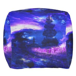 サファイアのバリ島の紫色の夢 アウトドアプーフ