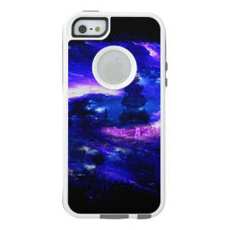 サファイアのバリ島の紫色の夢 オッターボックスiPhone SE/5/5s ケース