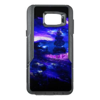 サファイアのバリ島の紫色の夢 オッターボックスSamsung NOTE 5ケース