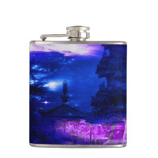 サファイアのバリ島の紫色の夢 フラスク