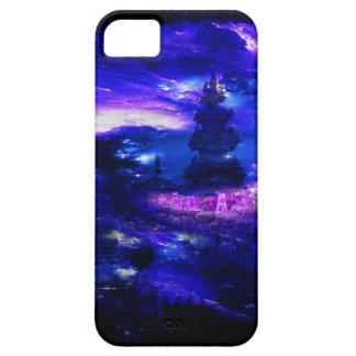 サファイアのバリ島の紫色の夢 iPhone SE/5/5s ケース