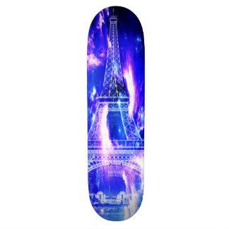 サファイアのパリの紫色の夢 スケートボード
