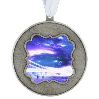 サファイアのブダペストの紫色の夢 オーナメント