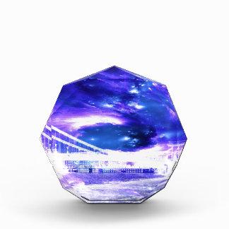サファイアのブダペストの紫色の夢 表彰盾