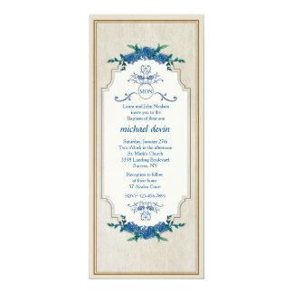 サファイアの三日月の招待状 カード