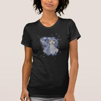 サファイアの妖精の天のファンタジーの芸術 Tシャツ