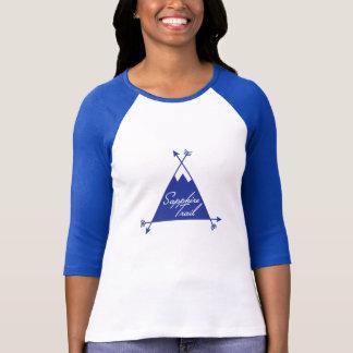 サファイアの道のロゴ Tシャツ