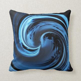 サファイアの青い島の波の装飾用クッション クッション