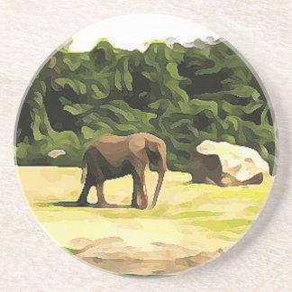 サファリからの象 コースター