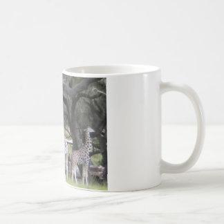 サファリの3キリン コーヒーマグカップ