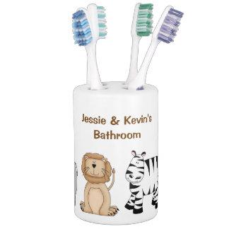 サファリ動物の子供の浴室セット バスセット