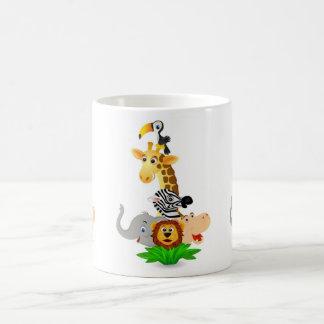 サファリ動物 コーヒーマグカップ