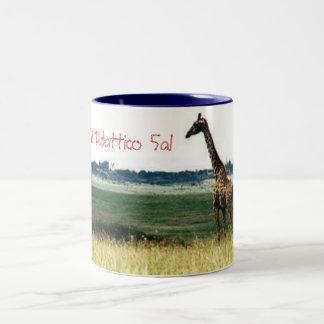 サファリDidattico 5al ツートーンマグカップ