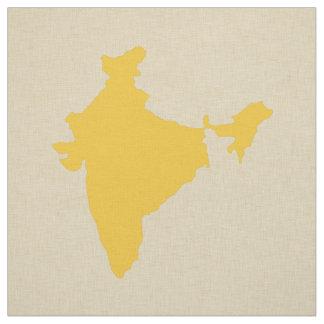 サフランのスパイスの気分インド ファブリック