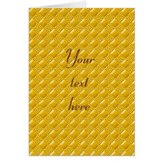 サフランの黄色 カード