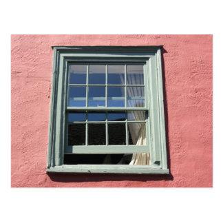 サフランWalden、Essex、イギリスの窓 ポストカード
