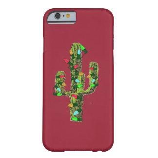 サボテンのクリスマス BARELY THERE iPhone 6 ケース