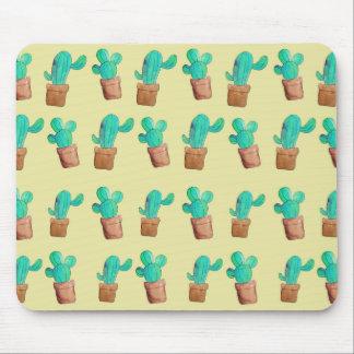 サボテンのプリントのマウスパッド マウスパッド