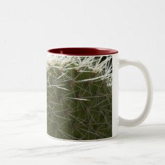 サボテンのマグ ツートーンマグカップ