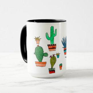 サボテンのマグ マグカップ