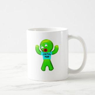 サボテンの人 コーヒーマグカップ