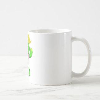 サボテンの女性 コーヒーマグカップ