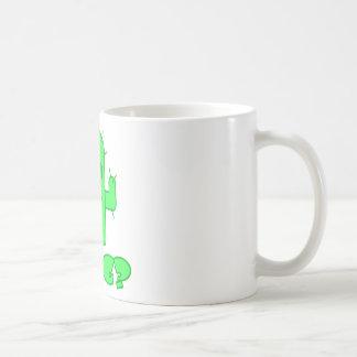 サボテンの抱擁 コーヒーマグカップ