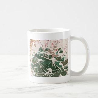 サボテンの抽象芸術 コーヒーマグカップ